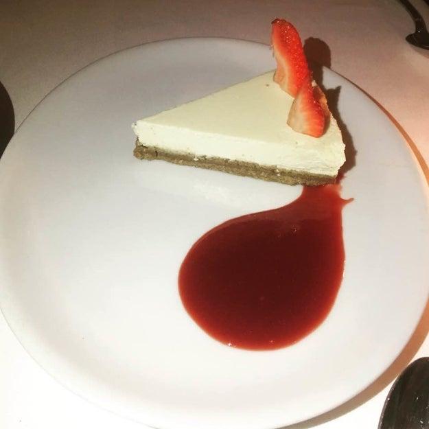 Cheesecake Alla Lavanda