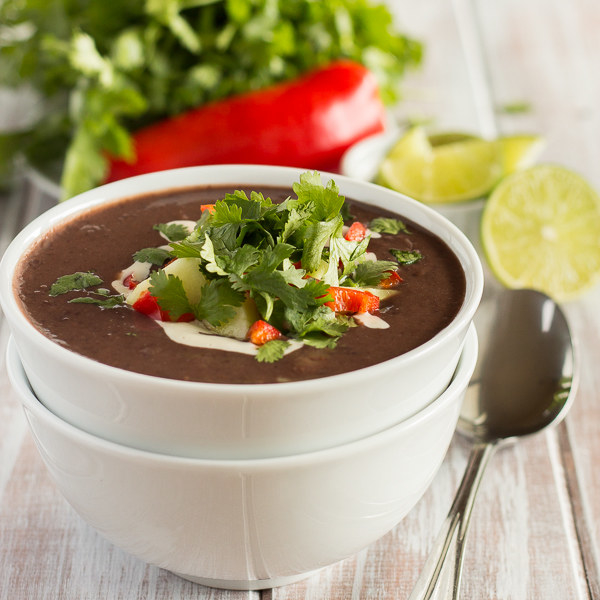 Tangy Black Bean Soup