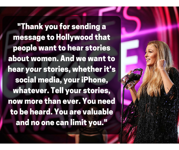 ...and most importantly, thanked fans for helping to send another message to Hollywood that stories about women are important, necessary, and wanted.