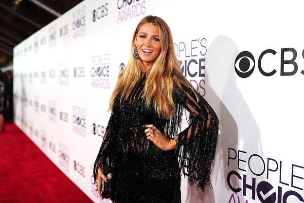 Last night, Blake Lively accepted an award for Favorite Dramatic Actress at the People's Choice Awards for her work in The Shallows.