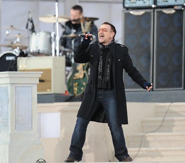Obama: U2