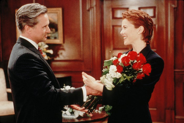 An idealized US president (Michael Douglas) pursues a romantic relationship with a lobbyist (Annette Bening) while trying to pass a crime control bill. (It's arguably a spiritual prequel to The West Wing.)Watch now on: YouTube, iTunes, Amazon