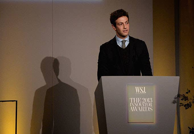 "Josh Kushner speaks onstage at the Wall Street Journal Magazine's ""Innovator Of The Year"" Awards 2013."