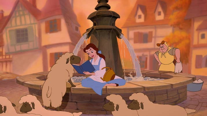 Lets See Are You Reading Beauty And The Beast Belle