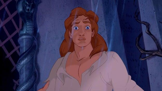 E, finalmente: por que quando o príncipe se transforma...
