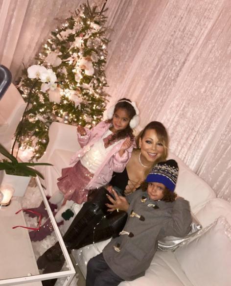 She has two beautiful children...