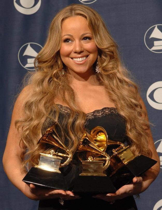 She has won five Grammy awards.