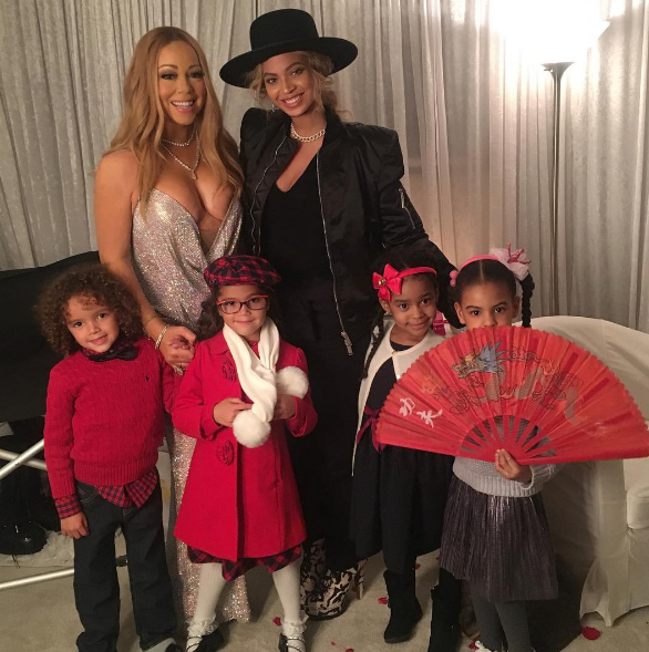 ...and her kids will be friends with Beyoncé's kids, which means they will be like power kids or something.