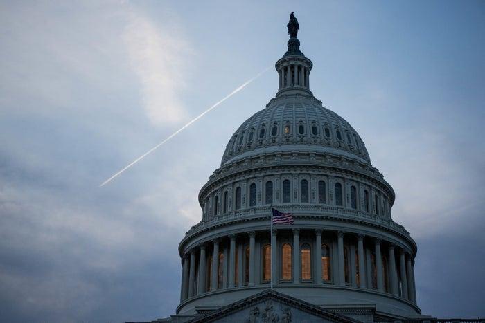 The Capitol Building, Washington, DC, on Nov. 8, 2016.