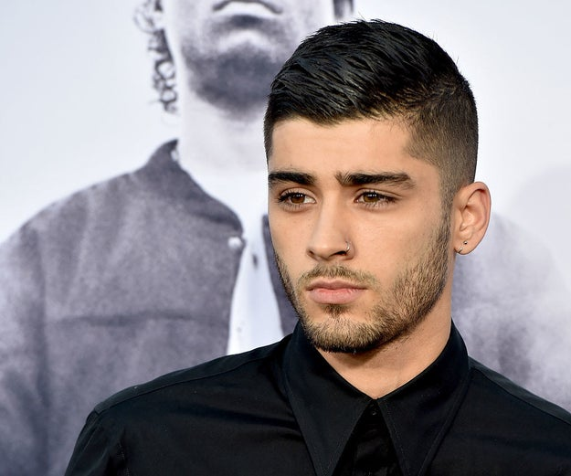Zayn Malik is already hot AF, that's just a fact.
