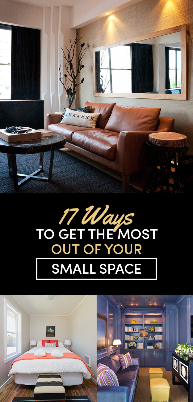 ways to make more space in a 17 ways to make a small room feel so big 21340