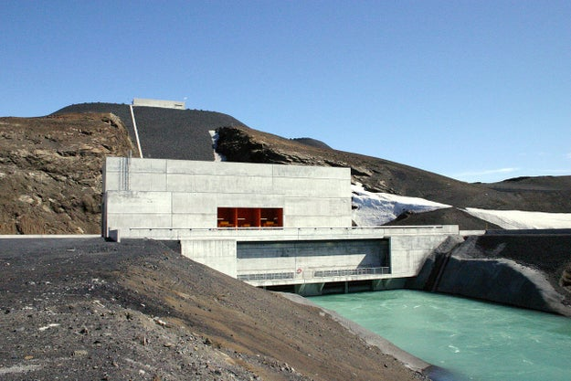 Nearly all of Iceland's heating and electricity needs are served by hydroelectric power and geothermal water reserves.