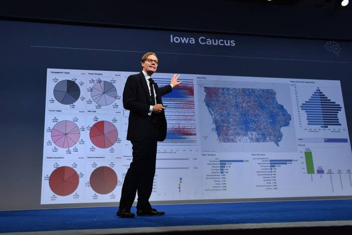 Alexander Nix is a director at SCL Group and CEO of its subsidiary, Cambridge Analytica, which worked closely on President Trump's campaign.