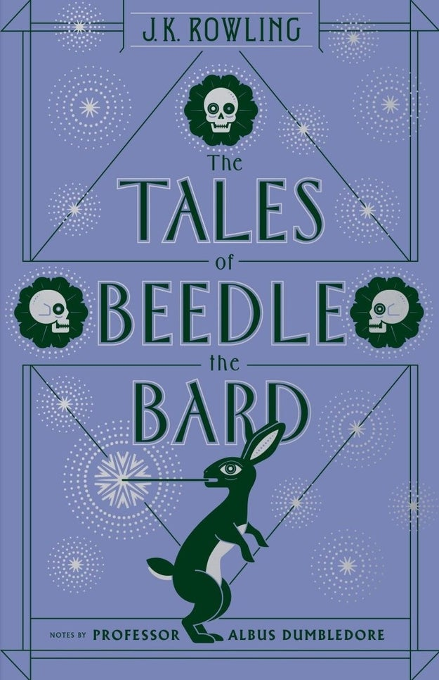 And the The Tales of Beedle The Bard cover's skulls hint at something much more sinister than a kid's bedtime story.