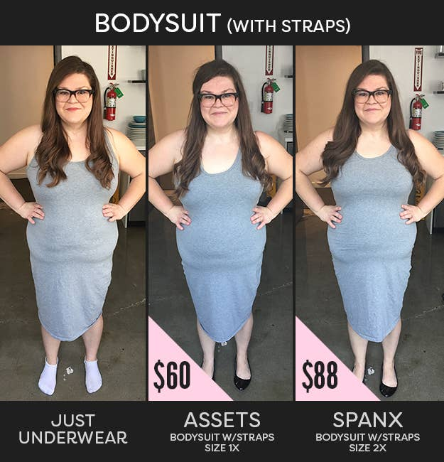 5396a01be52 This Is How Differently Priced Spanx Can Actually Make Your Body Look