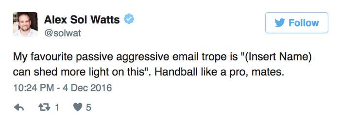 14 Hilarious Tweets About Passive-Aggressive Emails At Work