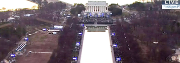Trump's Inaugural Concert Didn't Fill The National Mall
