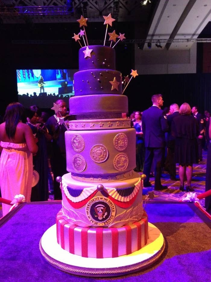 Charm City Cakes owner and chef Duff Goldman was commissioned to create it.