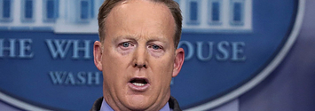Trump's Spokesman Lying At A Press Conference Is Now A Ridiculous Meme