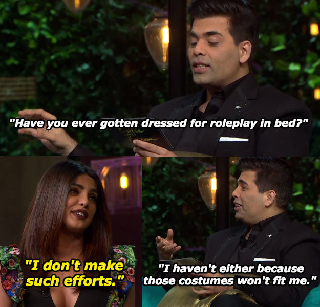 When Priyanka said it how it is.