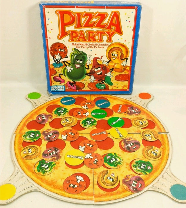 The Pizza Party Game