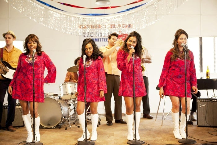 The Sapphires is a feel-good modern Aussie classic, about four women who form a music group and sing for troops during the war in 1968. The incredible cast features Jessica Mauboy, Deborah Mailman, Miranda Tapsell, Shari Sebbens, and Chris O'Dowd, and the costumes are also a big bonus.