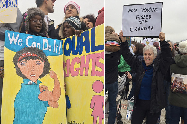Of The Greatest Signs From Womens Marches Around The Country - The 20 funniest signs spotted at the march for science