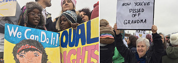 61 Of The Greatest Signs From Women's Marches Around The Country
