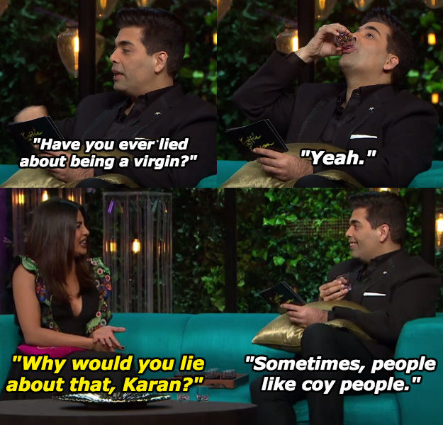 When Karan pulled a Salman Khan.
