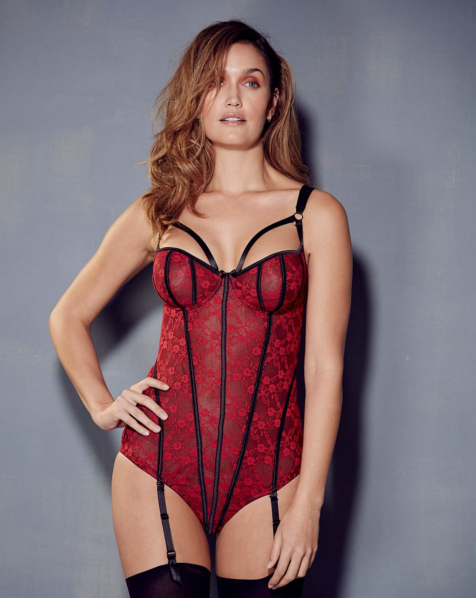 Flipboard  15 Plus-Size Lingerie Sets That Will Make Your Valentine ... f74687a12