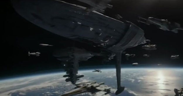 However, they were rerouted to Scarif once news of the battle broke. And, as Hidalgo points out, the Profundity was the only warship the Rebellion had — so it had to be there.