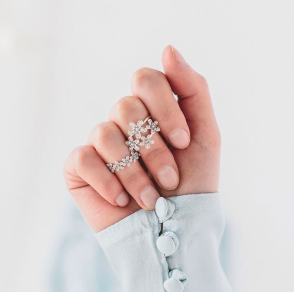 Daisy Rings That Feel Totally Dainty And Special.