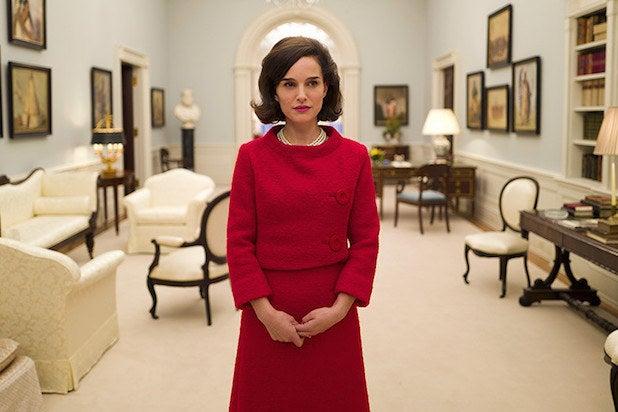 "Natalie Portman, ""Jackie"" (na foto)Emma Stone, ""La La Land"" Ruth Negga, ""Loving"" Meryl Streep, ""Florence: Quem é Essa Mulher?"" Isabelle Huppert, ""Elle"""