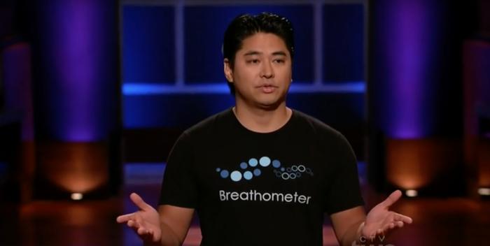 Breathometer CEO Charles Michael Yim.