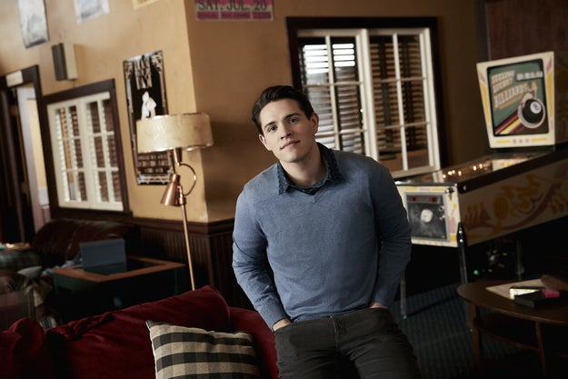 Casey Cott as Kevin Keller, master of the one-liner, woefully single gay BFF, and the son of Riverdale's sheriff...