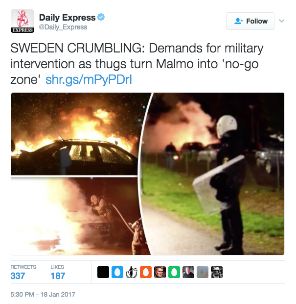 """How The Myth Of Lawless """"No-Go Zones"""" In Sweden Took Hold Among Right-Wing Media"""
