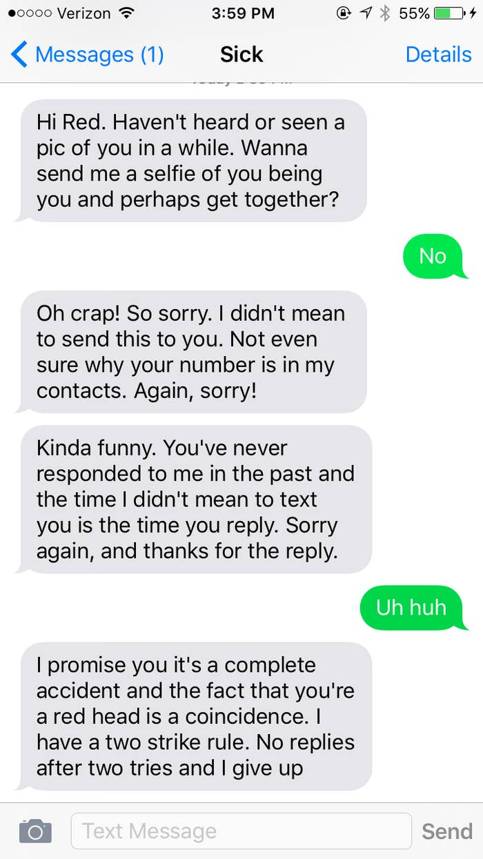 18 People Who SWEAR They Didn't Mean To Send That Text