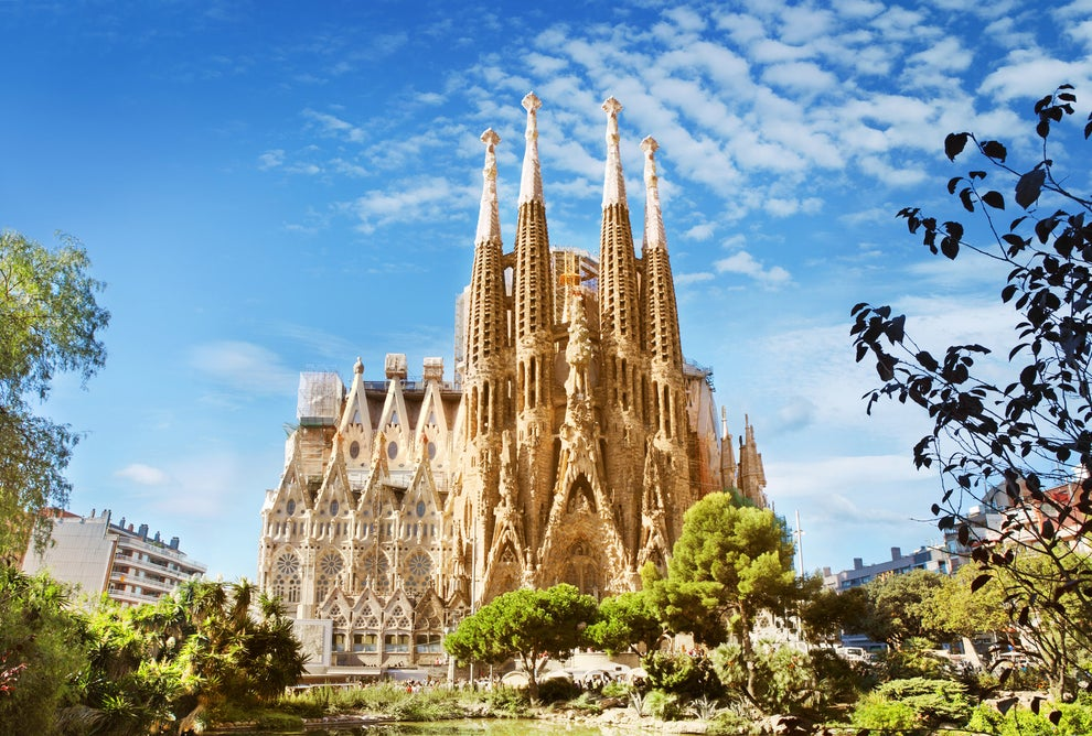 You swear you might never see a place as beautiful as Sagrada Família ever again.
