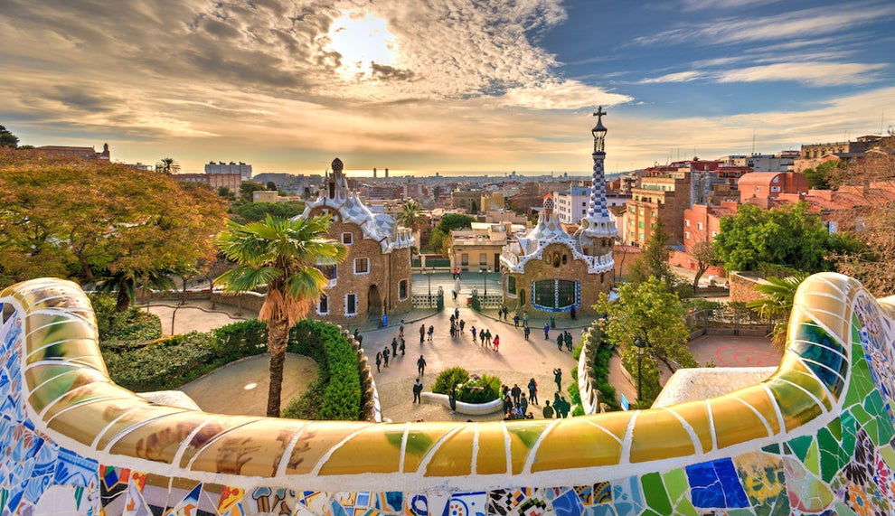 Park Güell made you feel like a character in Alice in Wonderland.