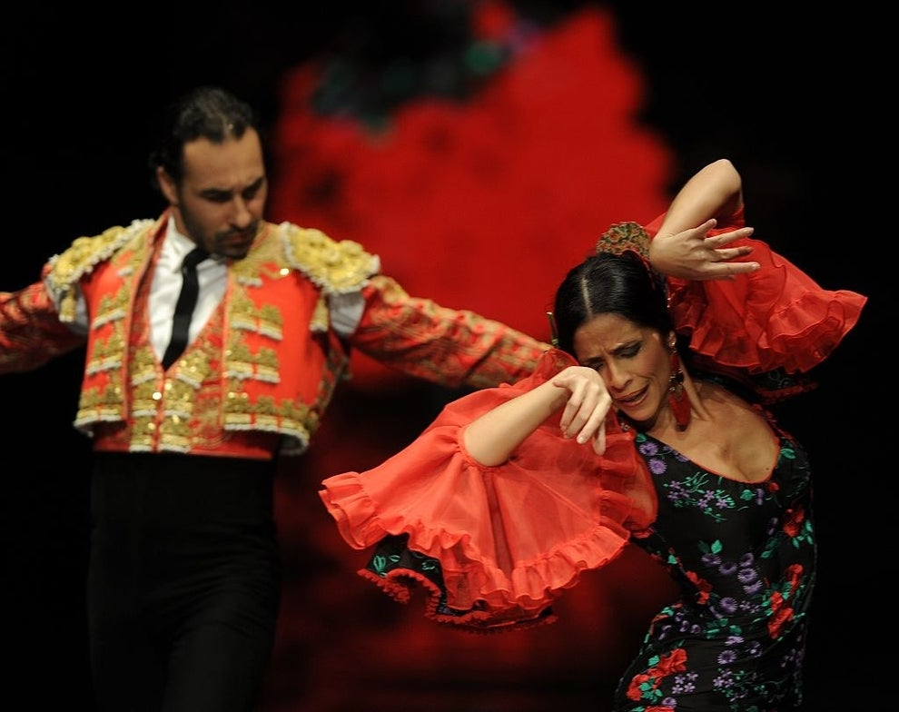 And flamenco dancers brought art to life in the most beautiful way you've ever seen.