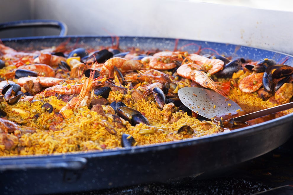 ...but they could never top the grand feast that was a massive serving of paella.