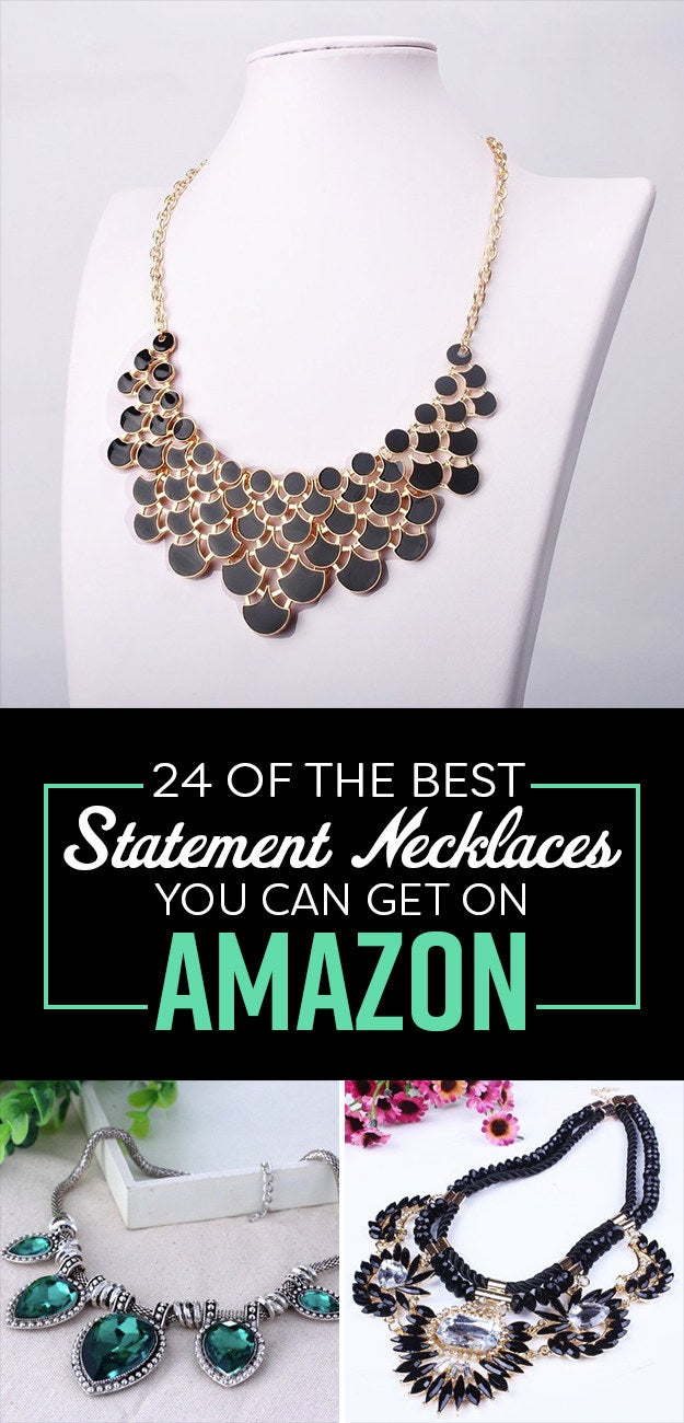 23 Incredibly Gorgeous Statement Necklaces You Can Get On Amazon