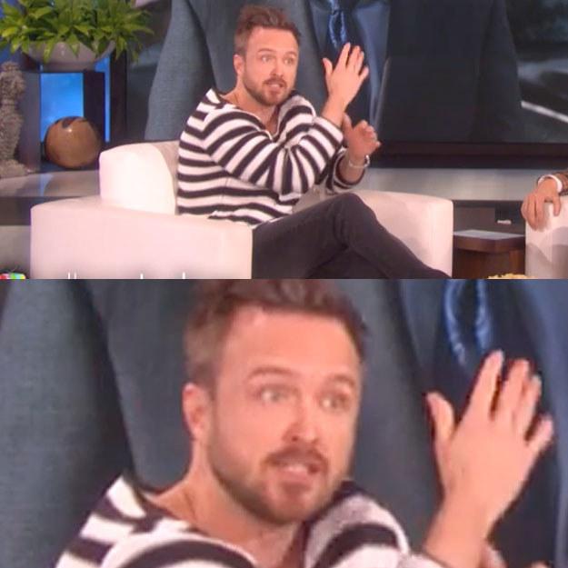 """Excuse me, Aaron...........""""WE?!?!?"""""""