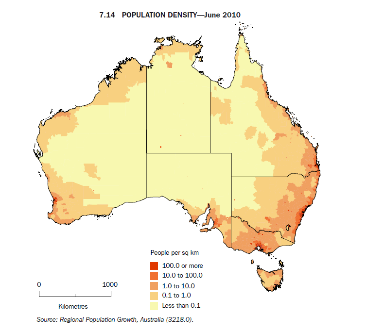 29 Maps Of Australia That Will Kinda Blow Your Mind