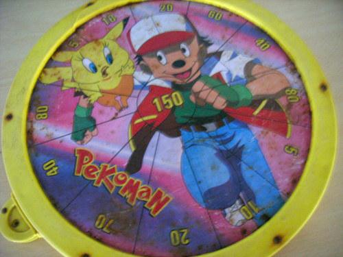 Esta vez que Pikachu se mezcló con Piolín y Ash con Mickey Mouse y salió el auténtico PEKOMAN.