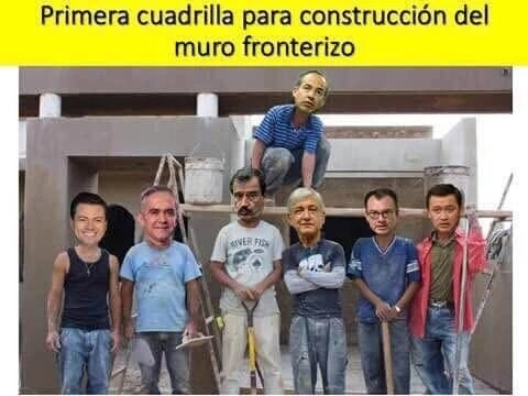 The team of builders, apparently, is already staffed up — by Mexican politicians.