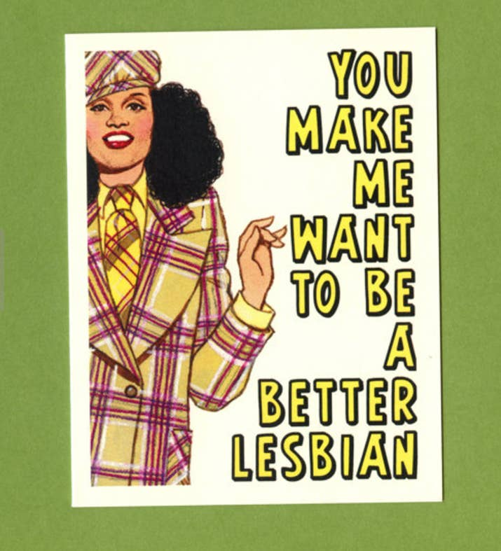 18 Valentines Day Cards Women Will Actually Want To Give To Their – Lesbian Valentines Day Cards
