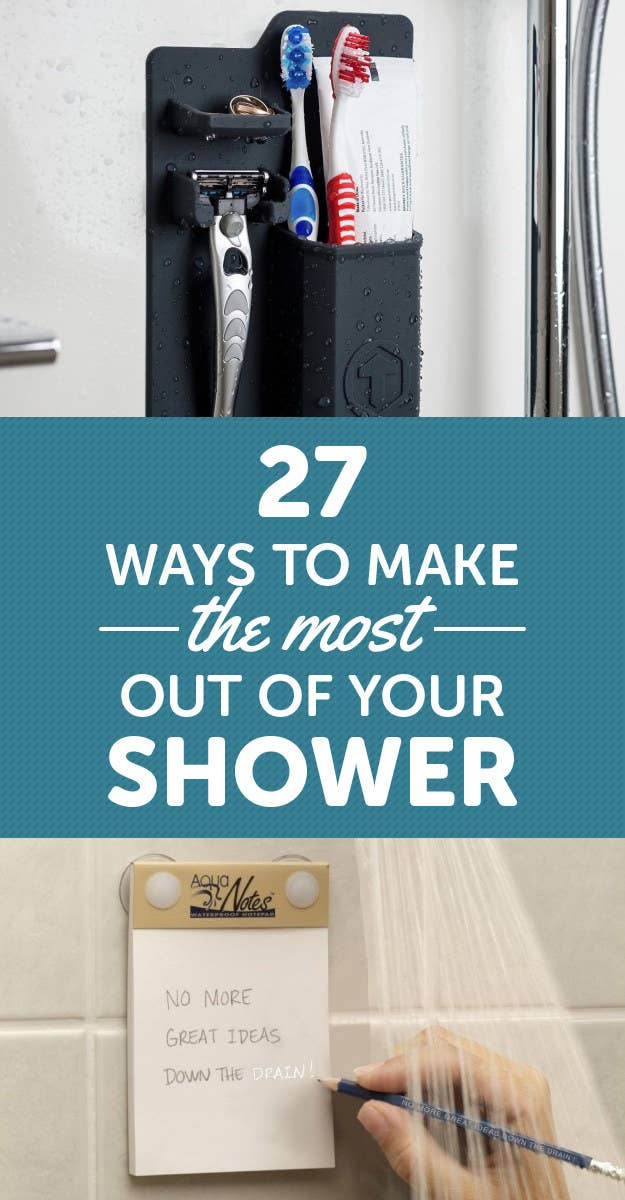 27 Things To Help You Take The Best Shower Of Your Life