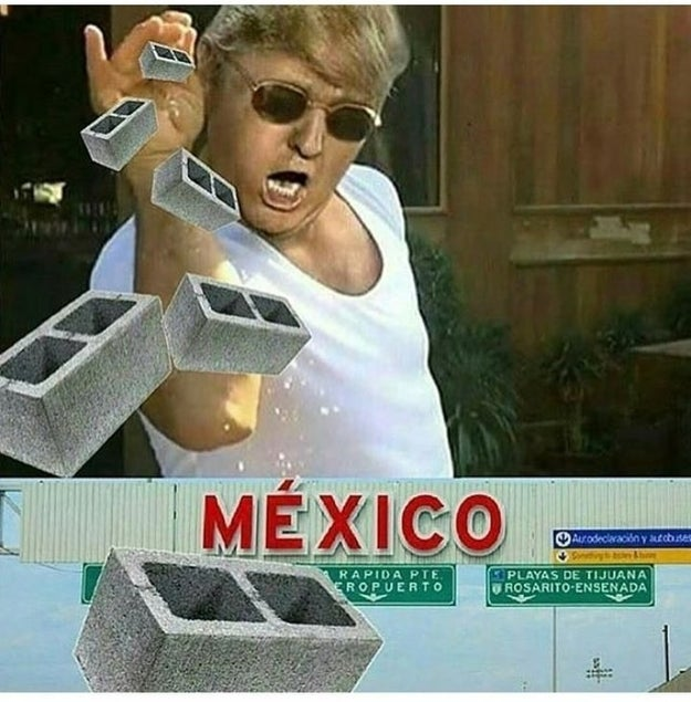¿Cómo podrían hacernos pagar por el muro?