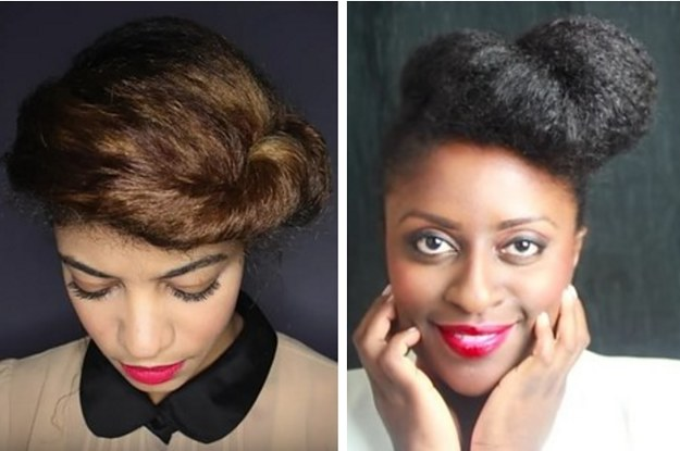 11 Vintage Inspired Styles That Are Perfect For Natural Hair